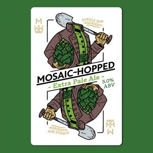 MOSAIC-HOPPED Extra Pale Ale Wort Kit All Inn Brewing Co Home Brew Beer