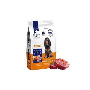 Yummi Hypro Dog Food; Adult Dog Food; Kangaroo & Lamb Dog Food; All Breed Dog Food; Dry Dog Food