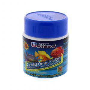 Cichlid Omni Flakes 34g Ocean Nutrition Premium Aquarium Fish Food