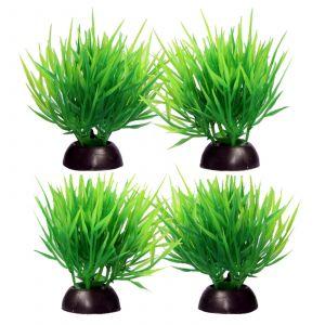 Ecoscape Foreground Hair Grass 4 Pack Green Aquarium Plant Fish Tank Aqua One