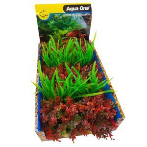 Ecoscape Foreground Mixed Punnet 5 Pack Aquarium Plant Fish Tank Décor Aqua One Style C
