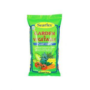 Garden & Vegetable Plant Food 2.5Kg Searles