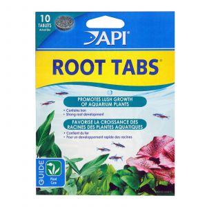 API Root Tablets 10Pk Fish Tank Aquarium Plant Treatment Lush Growth Boosts Iron