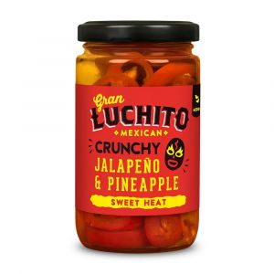 Crunchy Jalapeno & Pineapple Chillies 215G