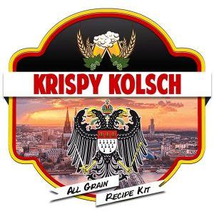 Krispy Kolsch All Grain Recipe Kit Suits Grainfather Home Brew Beer