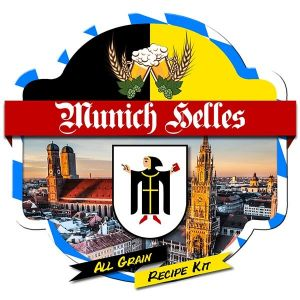 Munich Helles All Grain Recipe Kit Suits Grainfather Home Brew Beer
