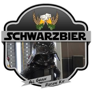 Schwarzbier All Grain Recipe Kit Suits Grainfather Home Brew Beer