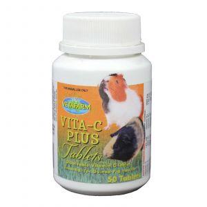 Vita-C Plus 50 Tablets Essential for Guinea Pig Health Small Animal Vetafarm
