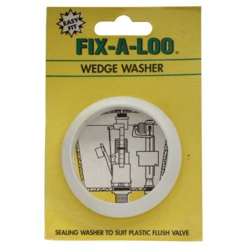 Fix-A-Tap Cistern Wedge Washer To Suit Plastic Flush Valve 206398