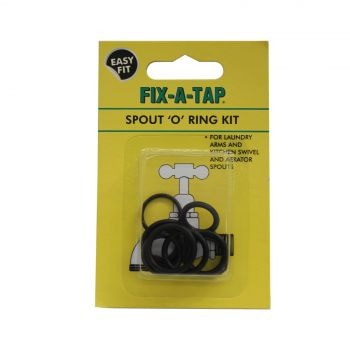 Fix-A-Tap Spout 'O' Ring Kit For Laundry Arms and Kitchen Swivel Aerators 207043
