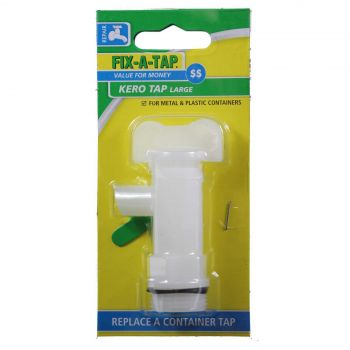Fix-A-Tap Kero Tap Large Gas Thread For Metal and Plastic Containers 800237