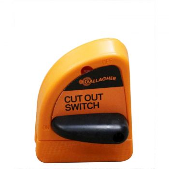 Gallagher G60733 Cut Out Switch High Performance Orange Electric Fencing