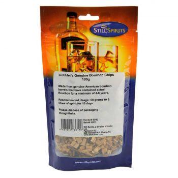 Still Spirits Gobblers Genuine Bourbon Chips 100g Home Brew