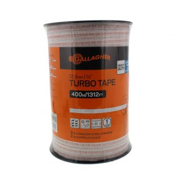 Gallagher G62356 Turbo Tape 400m (1 312 feet) UV Stabilised Electric Fencing