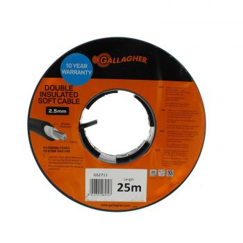 Gallagher G62711 Double Insulated Electric Fencing Cable 2.5mm x 25m