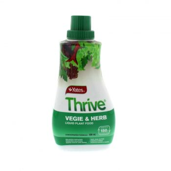 Thrive Liquid Concentrate Vegetable and Herb Liquid Flant Food Yates 500ml