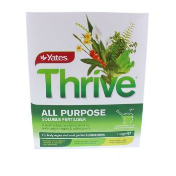 Thrive Sol All Purpose Fertiliser for Leafy Greens Vegies & Pots Yates 1.8kg