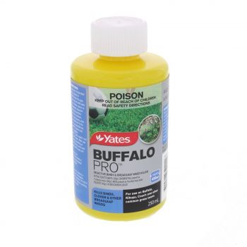 BuffaloPro Broadleaf Weed Killer Concentrate 200g/L Bromoxynil 250ml Yates