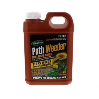 Path Weeder Concentrate Stop Weeds for Up To 12 Months Treats 40m2 1L Brunnings