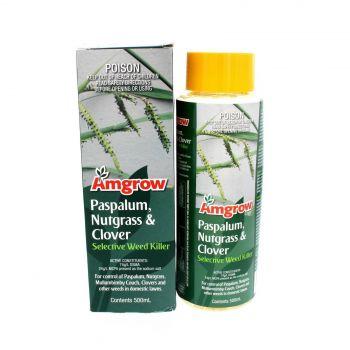Paspalum Nutgrass Clove Selective Weed Killer 74g/L DSMA 24g/L MCPA 500ml Amgrow