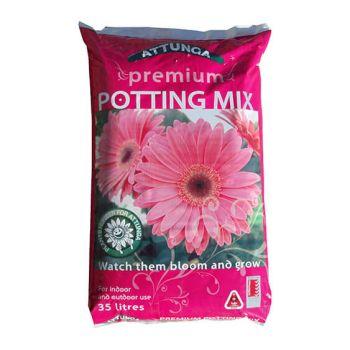 Pink Premium Potting Mix 35Lt Attunga