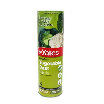 Yates Vegetable Dust Derris Insecticide Kills Caterpillars Aphids & Thrips 500g