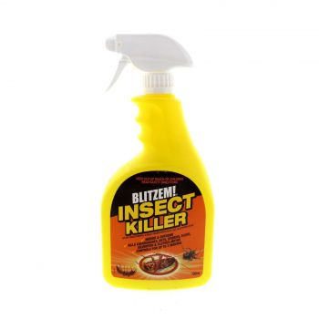 Blitzem Insecticide Ready To Use Indoor and Outdoor Insect Spray 750ml