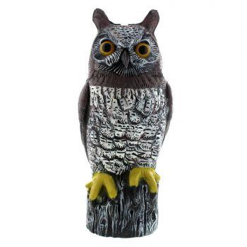 Possum Bird Scarer Owl Life Size Weather Resistant Lightweight Scare Birds