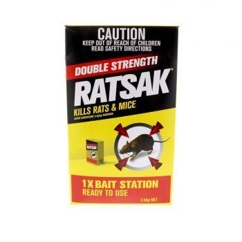 Ratsak Rat Mouse Pellets Bait Station Warfarin Yates  2.5kg