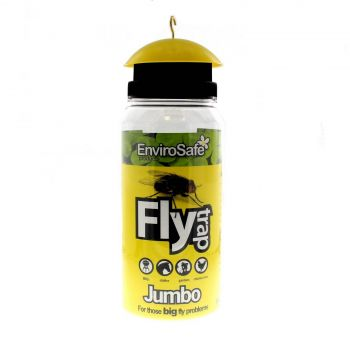 Rentokil Jumbo Fly Trap Envirosafe Traps House Blow Flies Safely Securely Smart