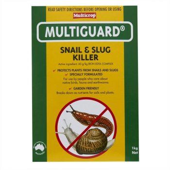 Multicrop Multiguard Snail & Slug Killer Breaks Down as Plant Nutrient 1kg