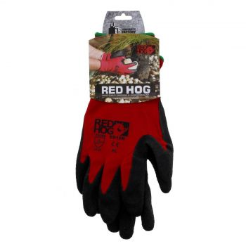 XLarge MaxiSafe RedKnight Gripmaster Gloves 15 Gauge Breathable Nylong Maximum Comfort