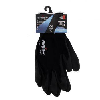 Ninja Glove P4001 Extra Large Seamless 15 Gauge Nylon Shell Feather Light Safety