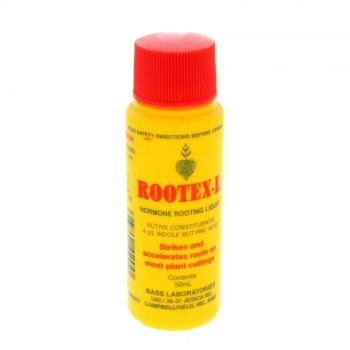 Rootex-L Hormone Rooting Liquid Most Plant Cuttings Rootex 50ml