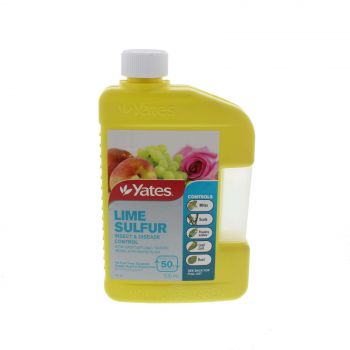 Lime Sulphur Spray Insect and Disease Control Makes up to 50L Yates Yates 500ml