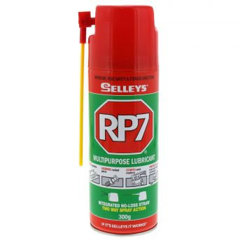 RP7 Multipurpose Lubricant Loosens Rusted Parts 300g Aerosol Spray Can Selleys