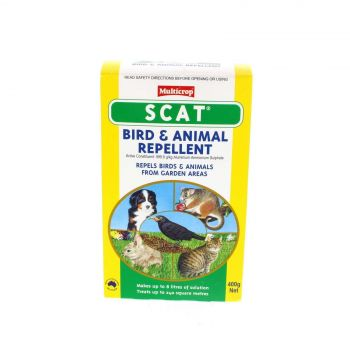 Scat Bird and Animal Repellent Makes up to 8L of Solution Possum Vermin 400g