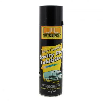 Cavity Rust Inhibitor Spray Can 400g Motospray Water Repellent Protection
