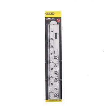 Rule Nylon Long Life 1m (39 Inch) Stanley Extremely Tough Engineered Plastic