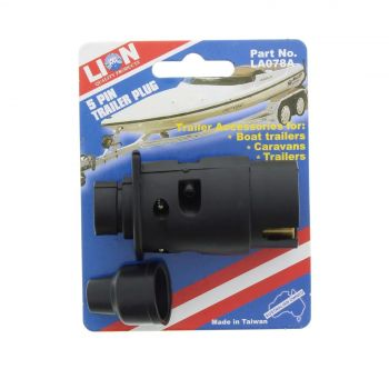 Trailer Plug 5 Pin Boat Caravan Lion Suitable For Boats Caravans And Trailers