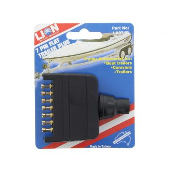 Trailer Plug 7 Pin Flat Boat Caravan Lion Easy To Use Boats Caravans Trailers
