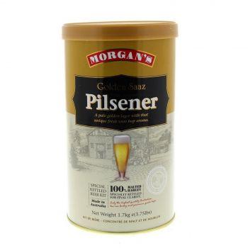 Morgans Golden Saaz Pilsener Ingredient Can Home Brew Pale Golden Lager Aroma