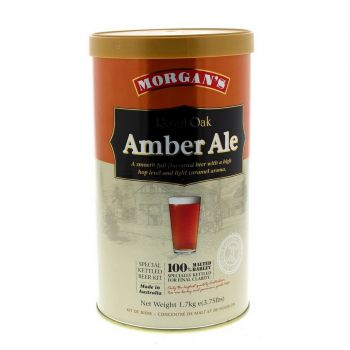 Morgans Royal Oak Amber Ale Ingredient Can Home Brew Smooth English Style Beer