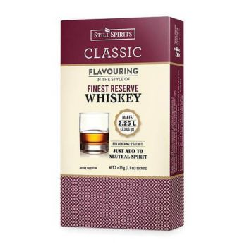 Still Spirits WHISKEY 2x29g Spirit Sachets Makes 2.25L Home Brew