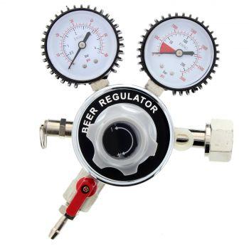 CO2 Regulator Dual Gauge Multi Gas Regulator Home Brew IM40993