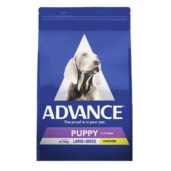 Advance Puppy Plus Growth Large Breed 15kg Premium Pet Dog Food Nutrition