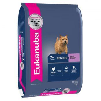 Eukanuba Small Breed Mature & Senior 7.5Kg Pet Premium Food For Older Dogs