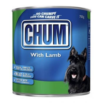 Chum With Lamb 12 X 700Gm
