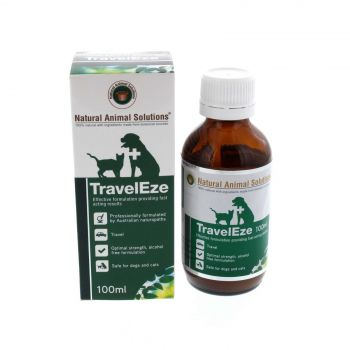 Traveleze Dog Cat Settle Nerves Calm Stomach 100ml Natural Animal Solutions