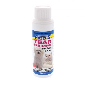 Tear Stain Remover Saliva Stain Dog Cat 125ml Fidos Removes Stains Soothes Eyes